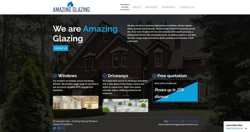 example website design services